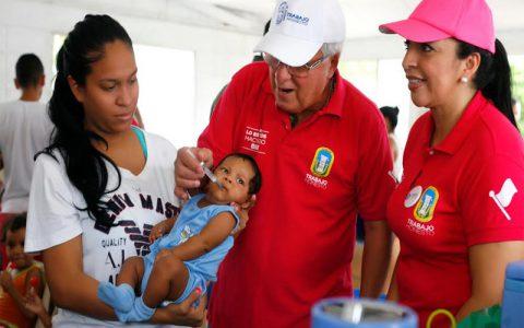 En un 96% Soledad cumplió coberturas de vacunación en 2016. Este sábado primera jornada nacional de vacunación de 2017