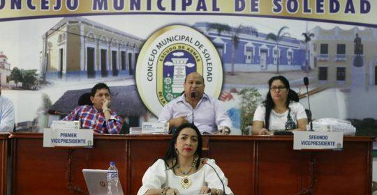 Cumplimos con Citación de Control Político al Honorable Concejo de Soledad