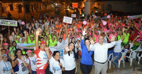 Soledad caminó 5K para conmemorar el Día Mundial de la Actividad Física