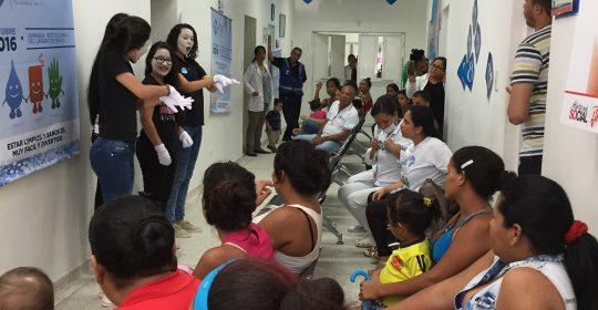 """Hospital de Soledad Materno infantil se une al Día Mundial de la Higiene de manos """"Limpie sus manos, salve vidas"""""""