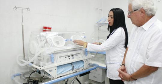 $593 millones en nuevos equipos médicos para Hospital de Soledad Materno Infantil