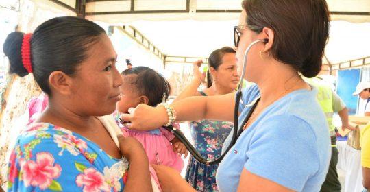 Brigada de salud integral a indígenas y afrodescendientes en Don Bosco