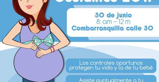 """Feria de Gestantes 2017 en Soledad: """"Los controles oportunos protegen tu vida y la de tu bebé"""""""