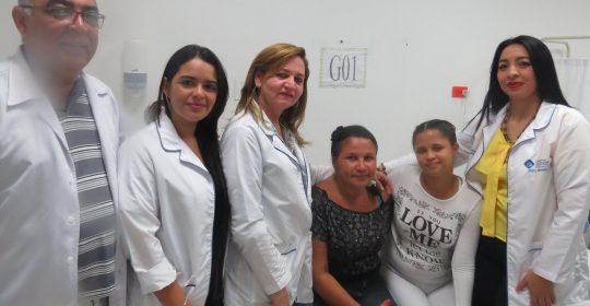 Gracias a gestión del Hospital de Soledad Materno Infantil, madre e hija venezolanas se reencuentran después de 10 días.