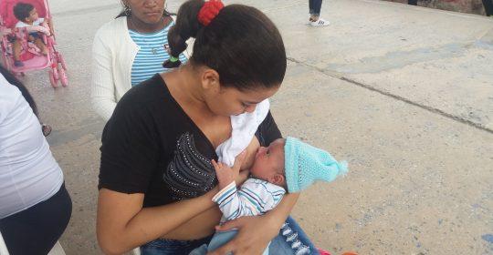 Soledad celebra la Semana Mundial de la Lactancia Materna