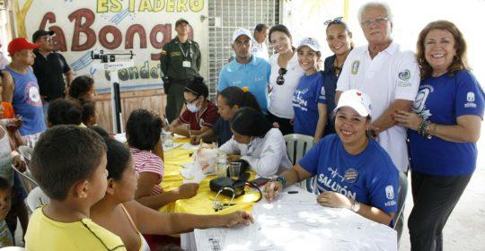 CERCA DE 250 PERSONAS ATENDIDAS EN JORNADA DE SALUD, AMOR Y PAZ DURANTE EL FIN DE SEMANA