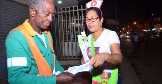 Hospital Materno Infantil y Secretaría de Salud de Soledad entregaron 3 mil preservativos en el fin de semana