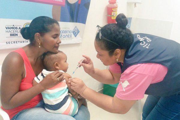 1.978 dosis de biológicos aplicadas durante jornada especial de vacunación