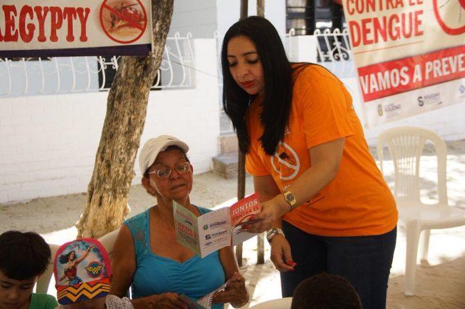 Materno Infantil y Alcaldía de Soledad realizaron jornada de prevención contra el dengue