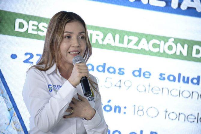 """""""Hemos descentralizado los servicios de salud en Soledad"""", secretaria de Salud en Rendición de Cuentas 2017"""