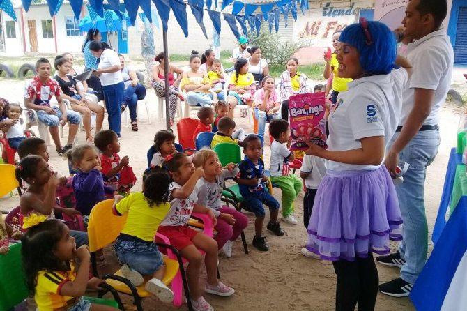 Iniciamos la celebración del Día del Niño con la Fundación Pintando Sueños