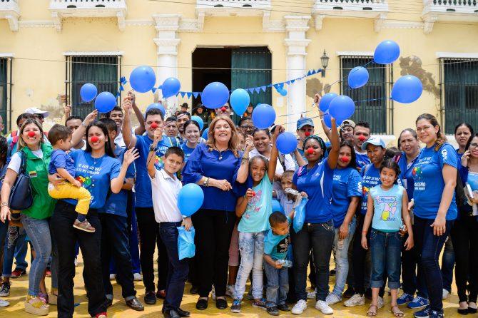 Autistas celebraron su día invitadospor la Alcaldía de Soledad