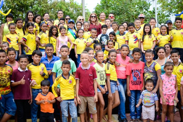 Niños soledeños celebran Día Mundial de la Actividad Física