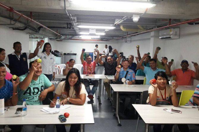 Motocarristas de Soledad aprenden a cuidar su sentido auditivo