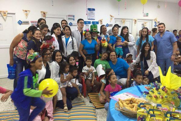 Así celebramos el Día del Niño en el Hospital Materno Infantil de Soledad