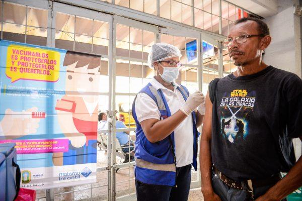 Nuevos puntos de vacunación contra el sarampión en Soledad