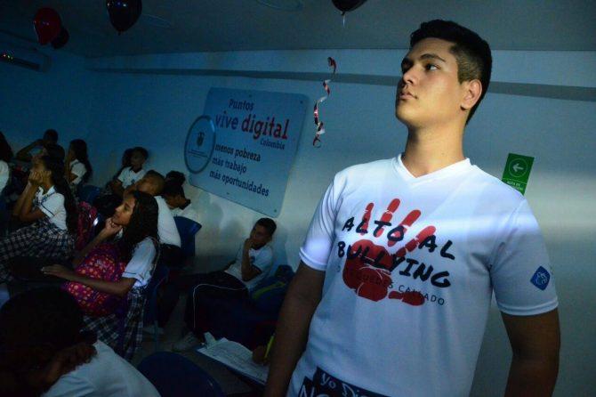 Conmemoramos el Día Mundial del Bullying con estudiantes de Soledad