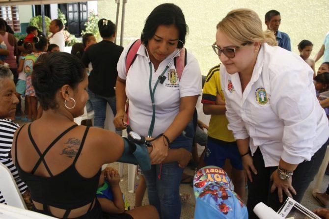 La Salutón llega a barrio Cachimbero: más de 350 atenciones