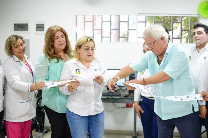 Hospital de Soledad Materno Infantil inaugura su call center