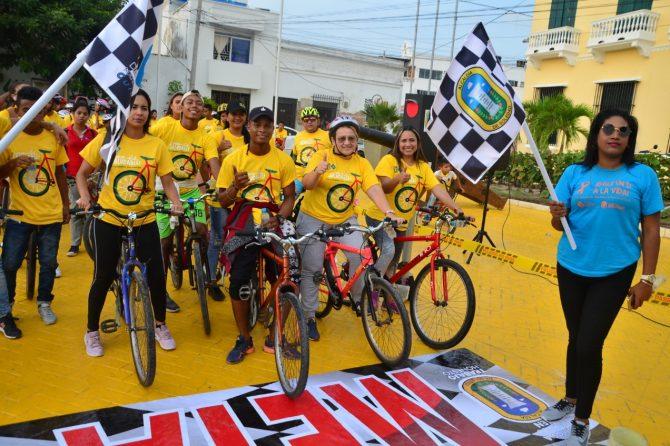 Con ciclovía recreativa, Soledad promueve los estilos de vida saludable