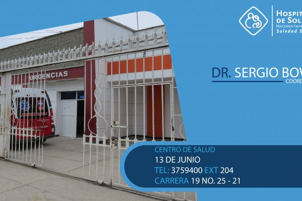 CENTRO DE SALUD 13 DE JUNIO