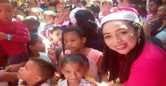 Niños de Soledad tendrán más de 2.000 razones para sonreír en esta navidad