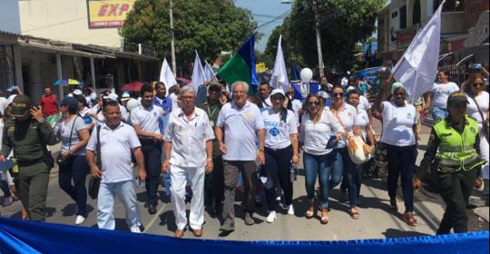 Marchamos por la dignidad y derechos de los Niños
