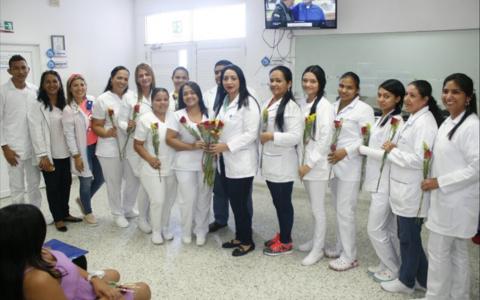 Celebramos el día de las enfermeras