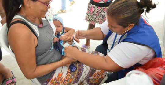 Materno Infantil listo para la Cuarta Jornada Nacional de Vacunación