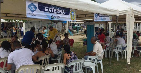 Cerca de 300 personas se vieron beneficiadas en Jornadas de Salud durante el fin de semana