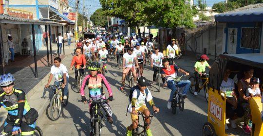 Mañana sábado, todos vamos a la Ciclo Ruta Saludable en Soledad