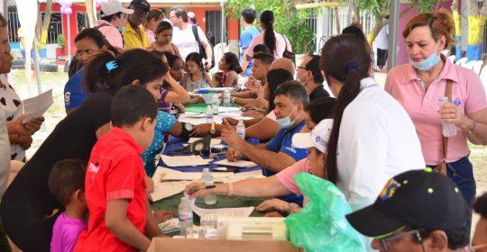 500 personas atendidas en Jornada de Salutón en Villa Lozano