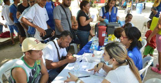 Hospital Materno Infantil apoyó jornada de prevención de la Alcaldía de Soledad a población venezolana