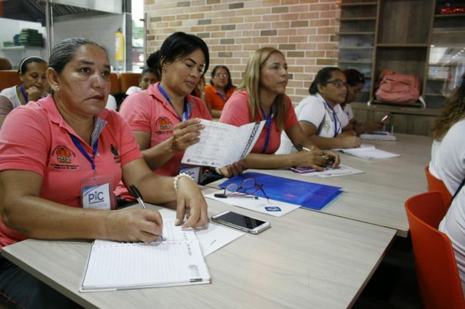 Seguimos capacitando a las madres comunitarias de hogares Fami y de los CDI
