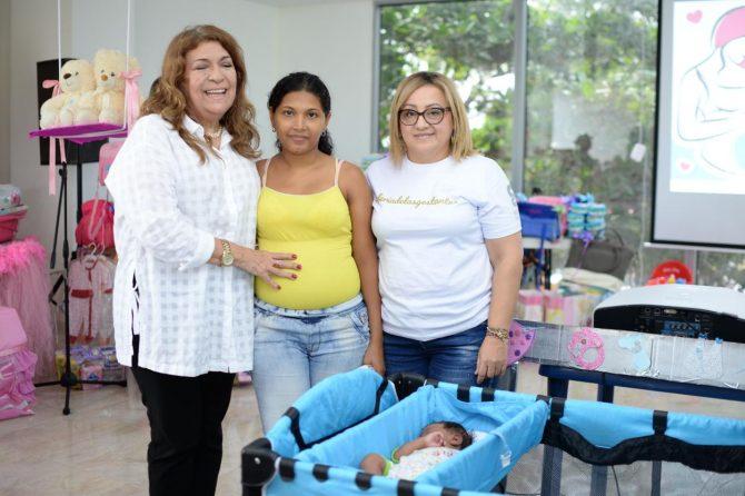 500 embarazadas participaron en la Feria de Gestantes de Soledad