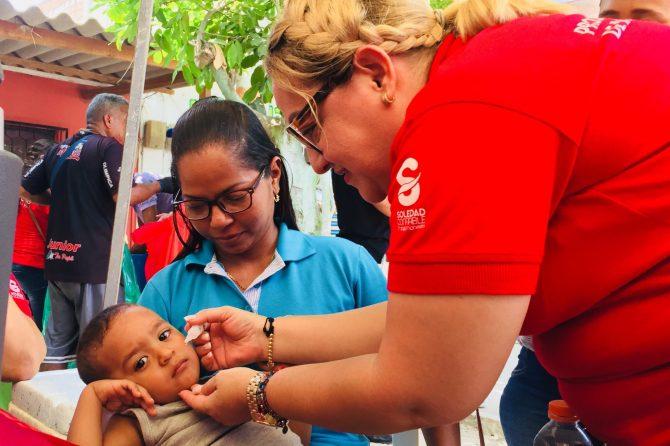 Soledeños le cumplieron a la Tercera Jornada Nacional de Vacunación