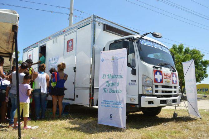 150 mil atenciones  realizó el programa 'Materno al Barrio' en  Soledad durante su primer año