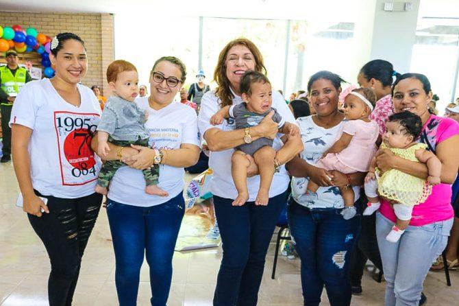 Con alegría y mucha creatividad, soledeños culminaron la Semana de la Lactancia Materna