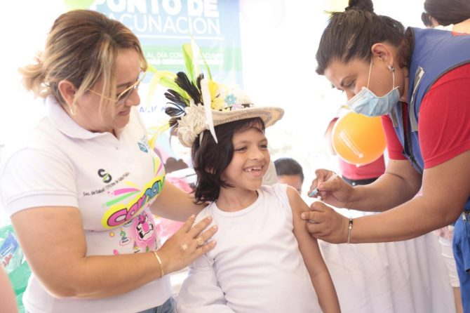 Soledeños le cumplieron la cita a la jornada nacional de vacunación