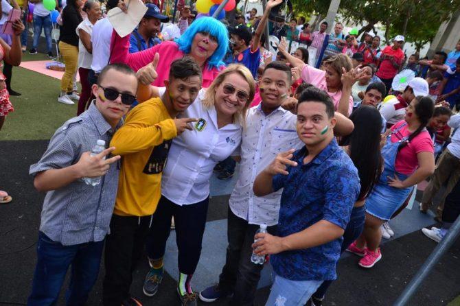 Con picnic, Alcaldía de Soledad y Materno Infantil celebran el Día del Síndrome de Down