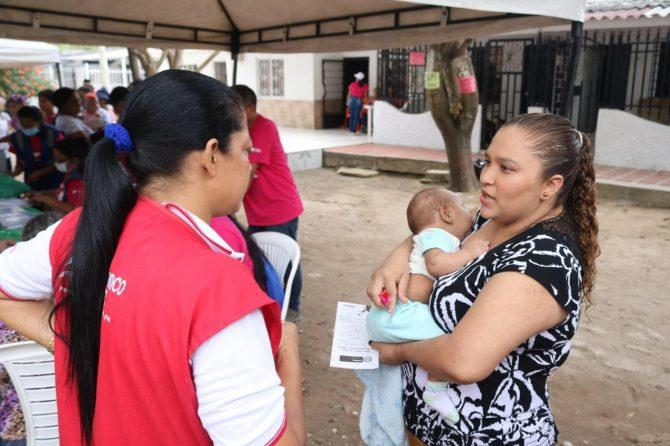 Más de 5 mil niños atendidos durante jornada de vacunación en Soledad