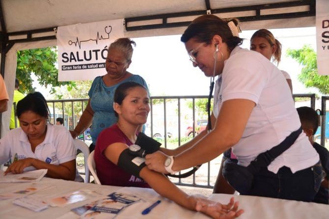 575 mujeres y niños fueron atendidos en Salutón para Mujeres en La Central