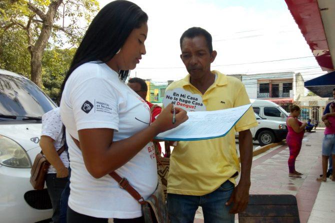Jornada de sensibilización sobre dengue en Las Moras IV etapa