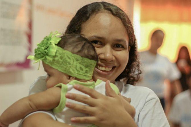 Materno comenzó celebración de la Semana Mundial de la Lactancia Materna