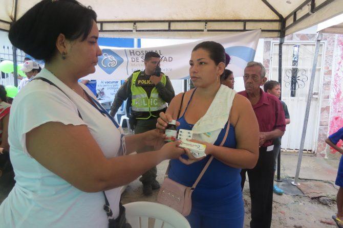 El Hospital Materno 'reinó' En Villa del Rey con la jornada descentralizada de salud