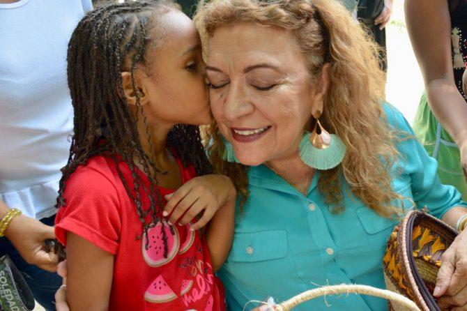 Habitantes de Villa Santa recibieron con alegría cuerpo médico del Hospital Materno