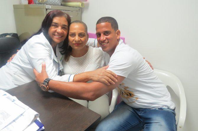 """""""La trabajadora Janeth Jiménez es el ángel que Dios me mandó para recuperarme"""""""