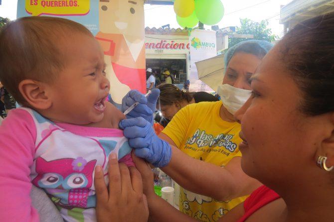 Soledeños respondieron a la convocatoria de la cuarta jornada de vacunación
