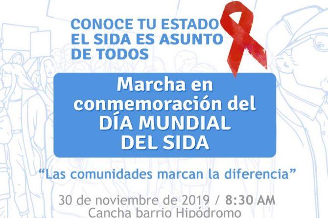 Nos unimos a la conmemoración del dÍa del VIH