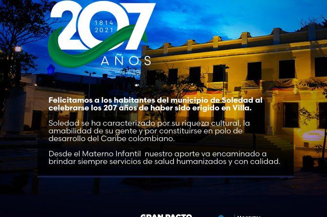Soledad 207 Años